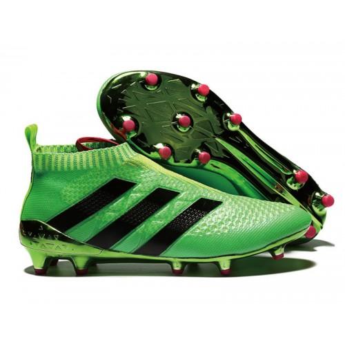 Chuteira Adidas Ace 16.1 Super Control Botinha Verde 360abc0d76480