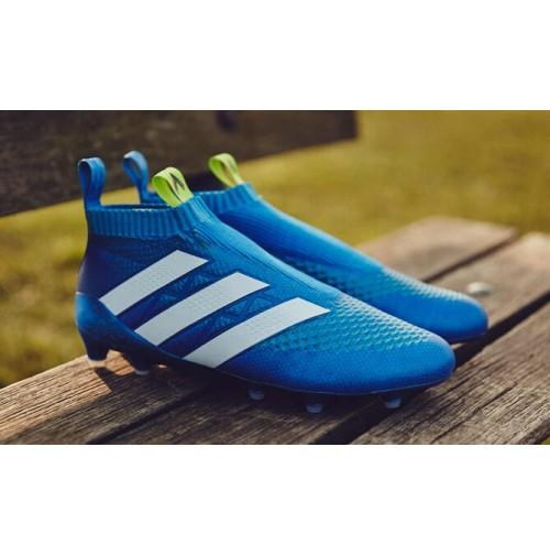 Chuteira Adidas Ace Super Control Botinha Azul