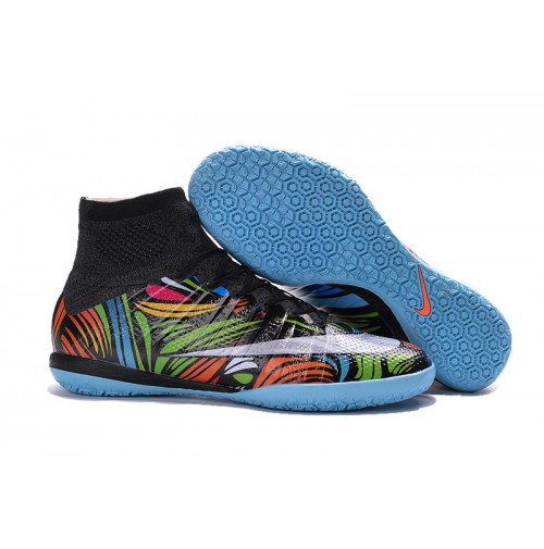Tênis  Nike Futsal Mercurial Superfly IC Colorida