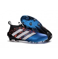 Chuteira Adidas Ace 16+ Purecontrol Blue/Red
