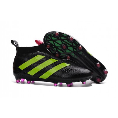 Chuteira Adidas Ace PureControl Black/Green