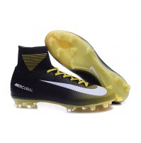 Chuteira Nike Mercurial Superfly V Black / Gold