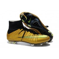 Chuteira Nike Mercurial X Superfly Gold