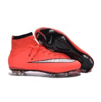 Chuteira Nike Mercurial X Superfly Red / Black Half