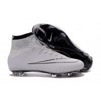Chuteira Nike Mercurial X Superfly White / Black Half