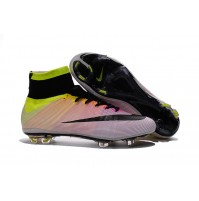 Chuteira Nike Mercurial X Superfly White / Yellow Deg