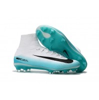 Nike Mercurial Superfly V White/Pool
