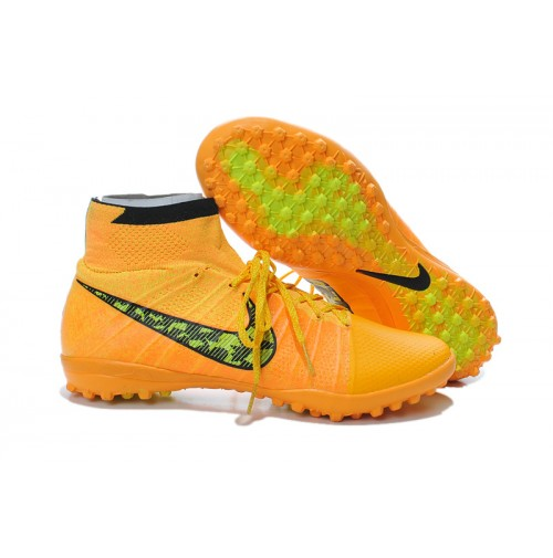 Chuteira Nike Society Elastico Superfly Orange