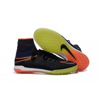 Chuteira Nike Society Hypervenom  X Proximo Black/Yellow/Orange