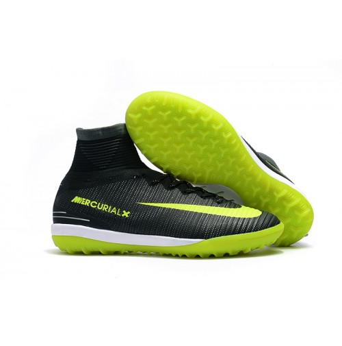Chuteira Nike Society Mercurial X Proximo II CR7 Black/Yellow