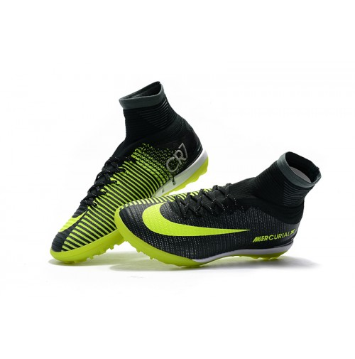 93a083b772 Chuteira Nike Society Mercurial X Proximo II CR7 Black Yellow