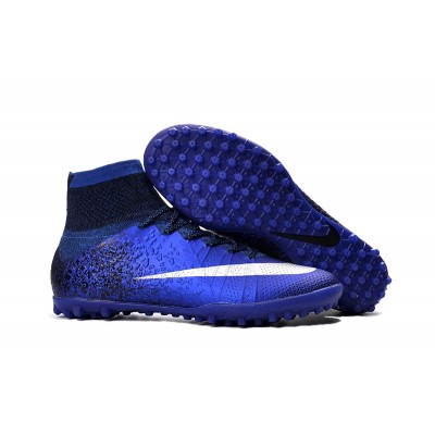 Chuteira Nike Society Mercurial X Superfly CR7 Blue Space