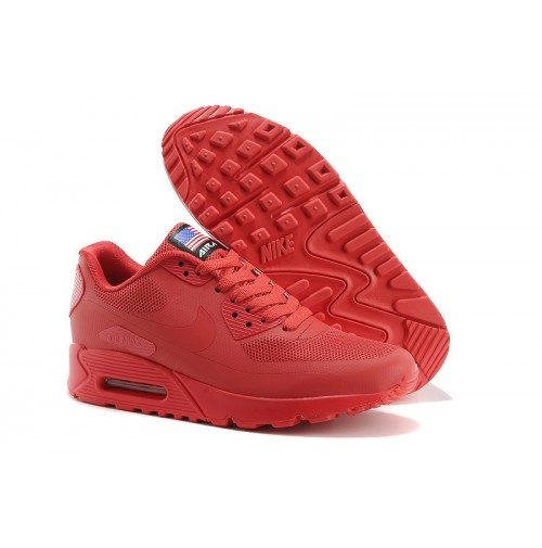 Tênis Nike Air Max 90 Hyperfuse Red